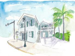 Mile 0 Marker Key West - Scenic Highway Florida by M. Bleichner