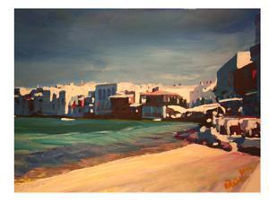 Mykonos Greece Little Venice Seascape by M Bleichner