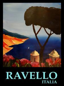 Ravello Amalfi Italy Poster by M Bleichner
