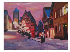 Rothenburg Tauber Winterdreamland by M Bleichner
