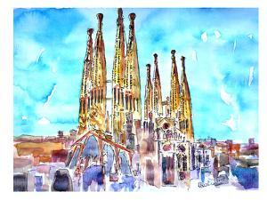 Sagrada Familia Barcelona Catalonia Neu by M Bleichner