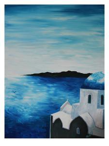 Santorini I by M Bleichner
