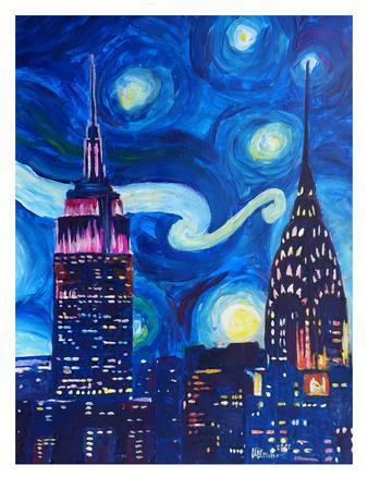 Starry Night In New York