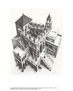 Ascending and Descending by M.C. Escher