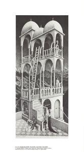 Belvedere by M.C. Escher