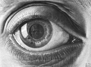 Eye by M^ C^ Escher
