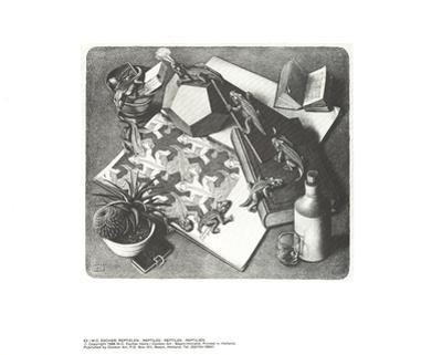 Reptiles by M^C^ Escher