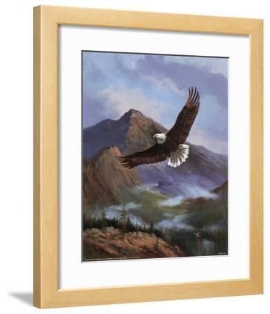 Eagle Gliding