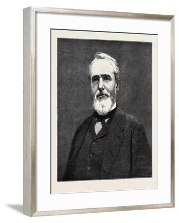 M. Challemel-Lacour the New French Ambassador in London 1880--Framed Giclee Print