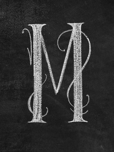 M Curly Chalk Capital-CJ Hughes-Giclee Print