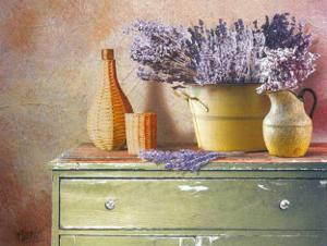 Flowers on Gramma's Sideboard IV by M. De Flaviis