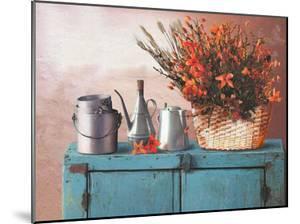 Flowers on a Sideboard II by M. de Flavis