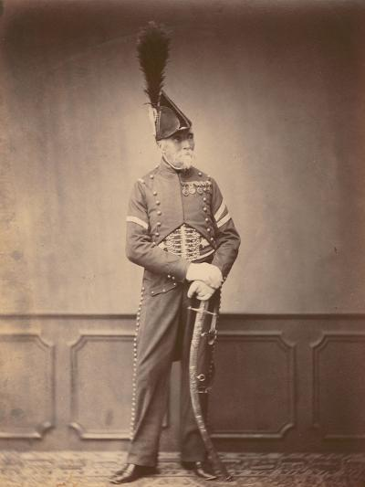 M. Dupont, Fourier of the 1st Hussars, 1860--Photographic Print