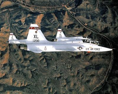 M F Winter T-38 Plane Jet Photo Art Print POSTER USA