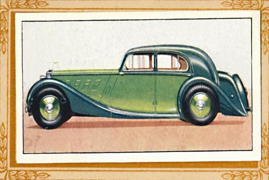 'M.G. Two-Litre Saloon', c1936-Unknown-Giclee Print