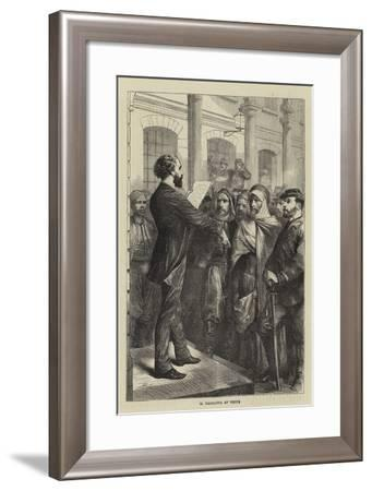 M Gambetta at Tours-Godefroy Durand-Framed Giclee Print