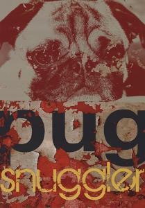 Pug Snuggler by M^J^ Lew