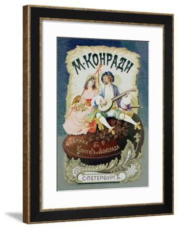 M. Konrad St. Petersburg Chocolate Factory--Framed Art Print