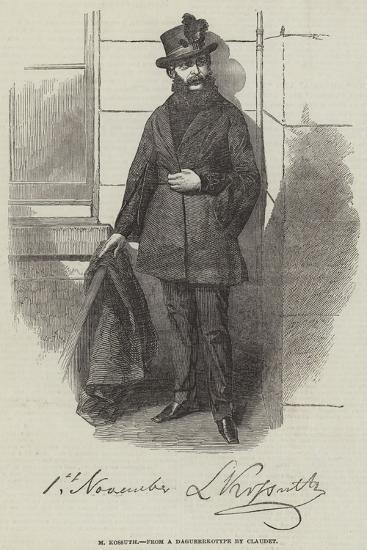 M Kossuth--Giclee Print