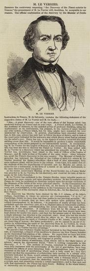 M Le Verrier--Giclee Print