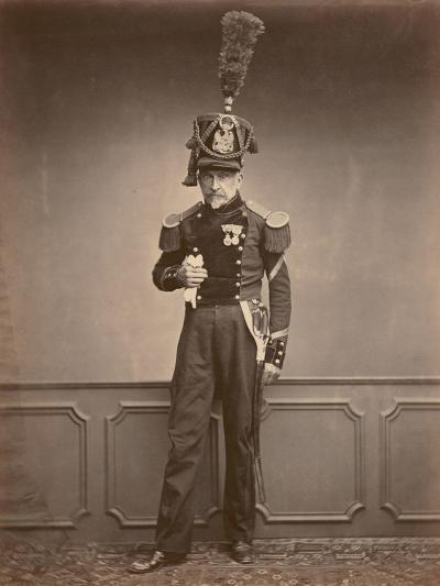 M. Lefebre, Sergeant in the 2nd Regiment of Engineers, 1860--Photographic Print