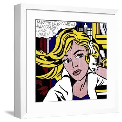 M-Maybe, c.1965-Roy Lichtenstein-Framed Art Print