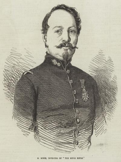 M Minie, Inventor of The Minie Rifle--Giclee Print