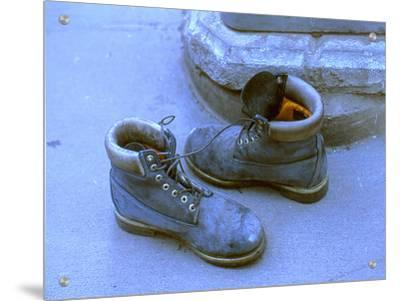 Pair of Boots Left by Ground Zero Site, New York City