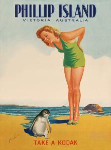 Phillip Island - Victoria, Australia - Take a Kodak - Victorian Railways by M^ Newman