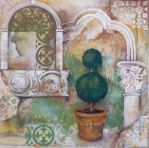 An Italian Garden II by M. Patrizia