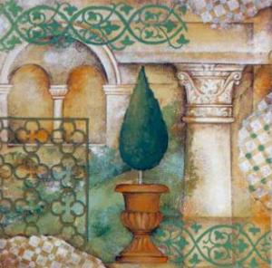 An Italian Garden III by M. Patrizia