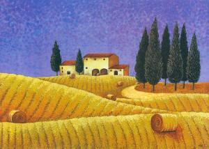 The Colours of Provence II by M. Picard