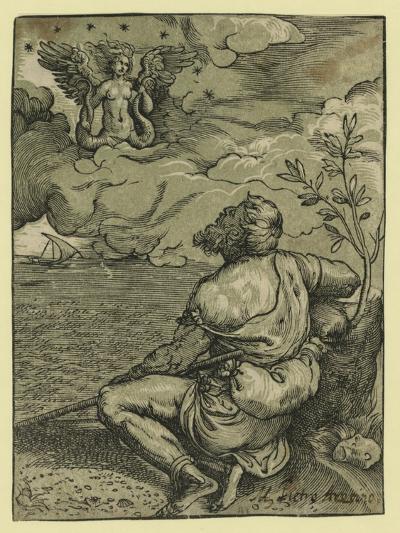 M. Pietro Aretino-Titian (Tiziano Vecelli)-Giclee Print