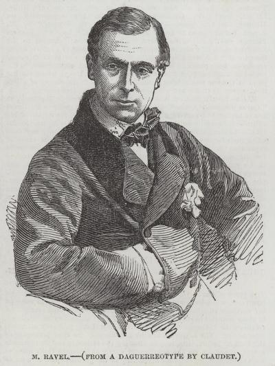 M Ravel--Giclee Print