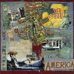 America by M^ Sigrid
