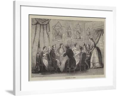 M Soyer, at Home--Framed Giclee Print