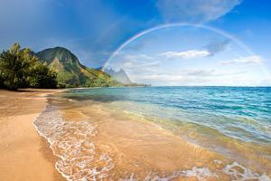 Rainbow Paradise Beach by M Swiet Productions