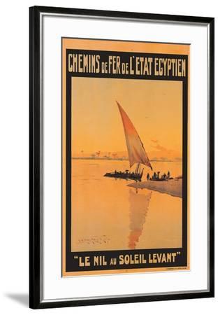 Le Nil Au Soleil Levant