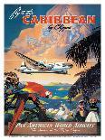 Fly To Hawaii by Clipper, Pan American World Airways c.1940s-M^ Von Arenburg-Giclee Print