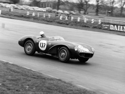 M Ward Racing a 1955 Aston Martin DB3S, Silverstone, 1962