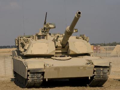 M1 Abrams Tank at Camp Warhorse-Stocktrek Images-Photographic Print