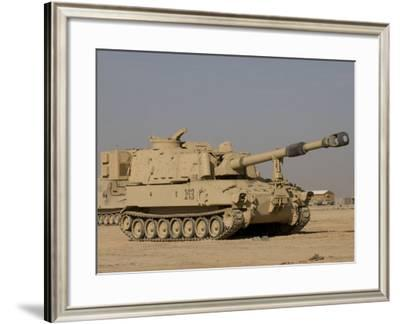 M109 Paladin, a Self-Propelled 155mm Howitzer-Stocktrek Images-Framed Photographic Print