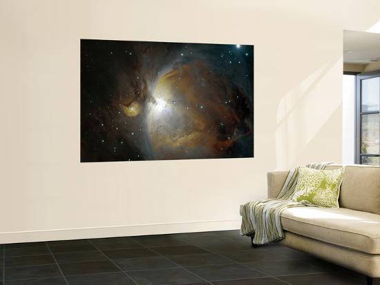 M42 Nebula in Orion--Wall Mural