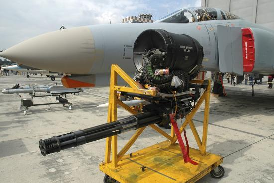 M61A1 20Mm Vulcan Gun from a German Air Force F-4F Phantom Photographic  Print by Stocktrek Images   Art com