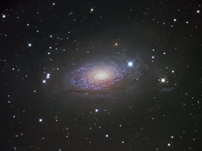 M63, Spiral Galaxy in Canes Venatici-Robert Gendler-Photographic Print