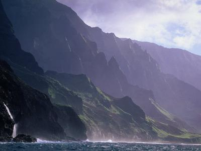 Ma Pali Coast, Kauai, Hawaii-Peter Hendrie-Photographic Print