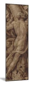 Samson Destroying the Temple, Death of Samson by Maarten van Heemskerck