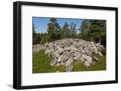 Bronze Age Burial Site of Sammallahdenmaki in Finland