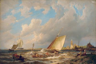Maassluis, Holland-Pieter Cornelis Dommerson-Giclee Print