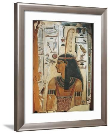 Maat, Painted Relief--Framed Giclee Print